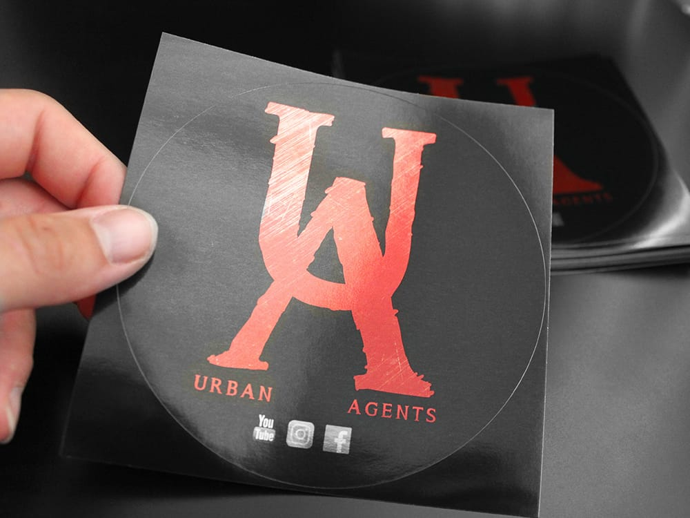 Urban Agents Sticker
