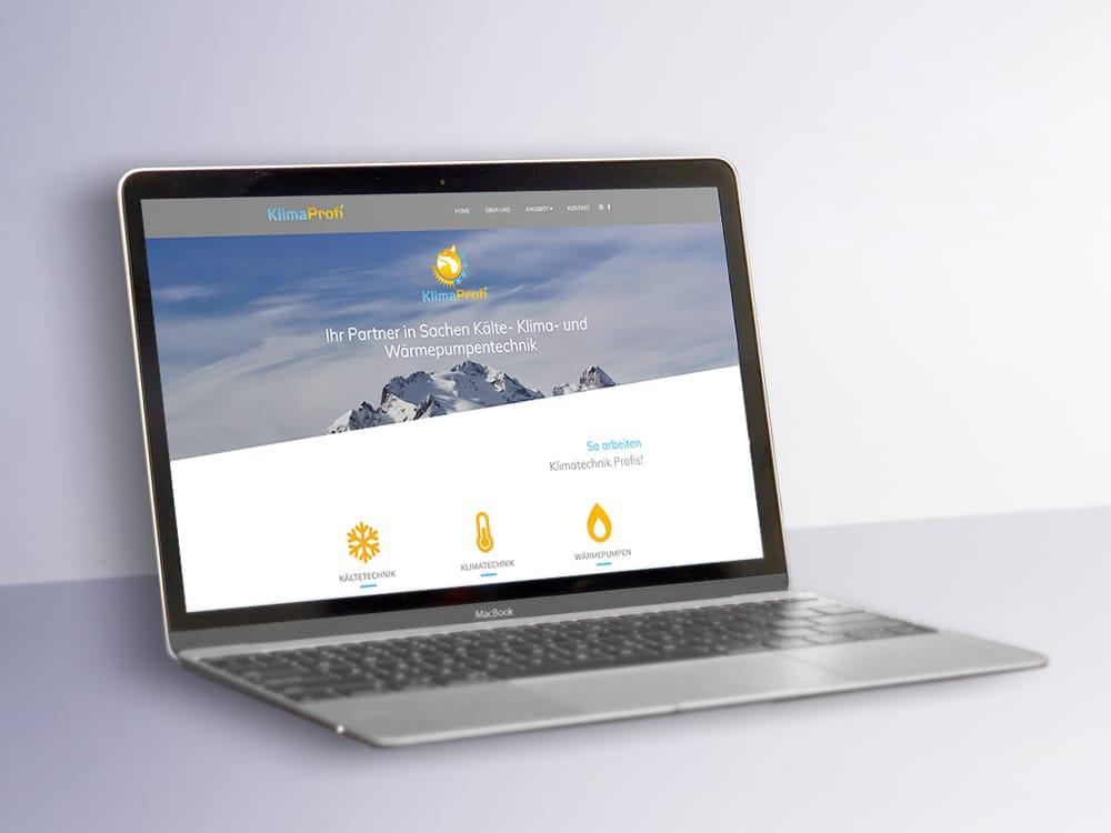 Klimaprofi Website